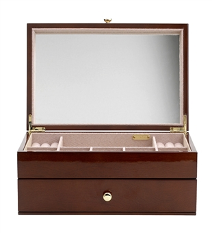 Elyse Jewelry Box with Drawer