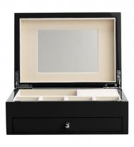 Midnight Jewelry Box with High Gloss Finish