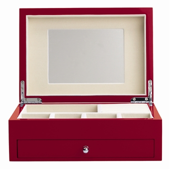 Poppy Jewelry Box with High Gloss Finish