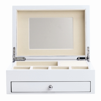 Pearl Jewelry Box with High Gloss Finish