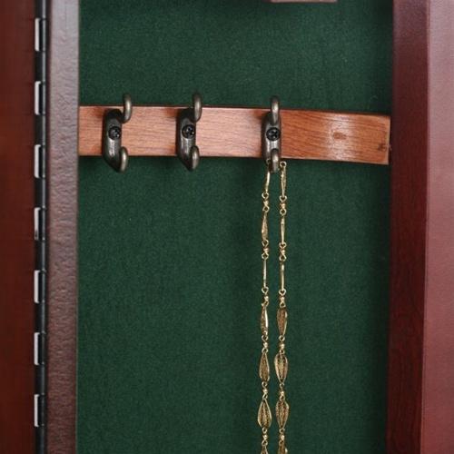 Cherry Jewelry Armoire Curved Bonbe Floor Standing Jewelry Box