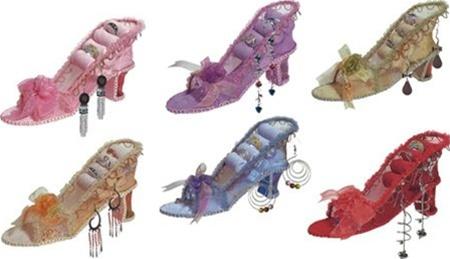 Victorian Shoe Jewelry Ring Holder SS Sarna Nini