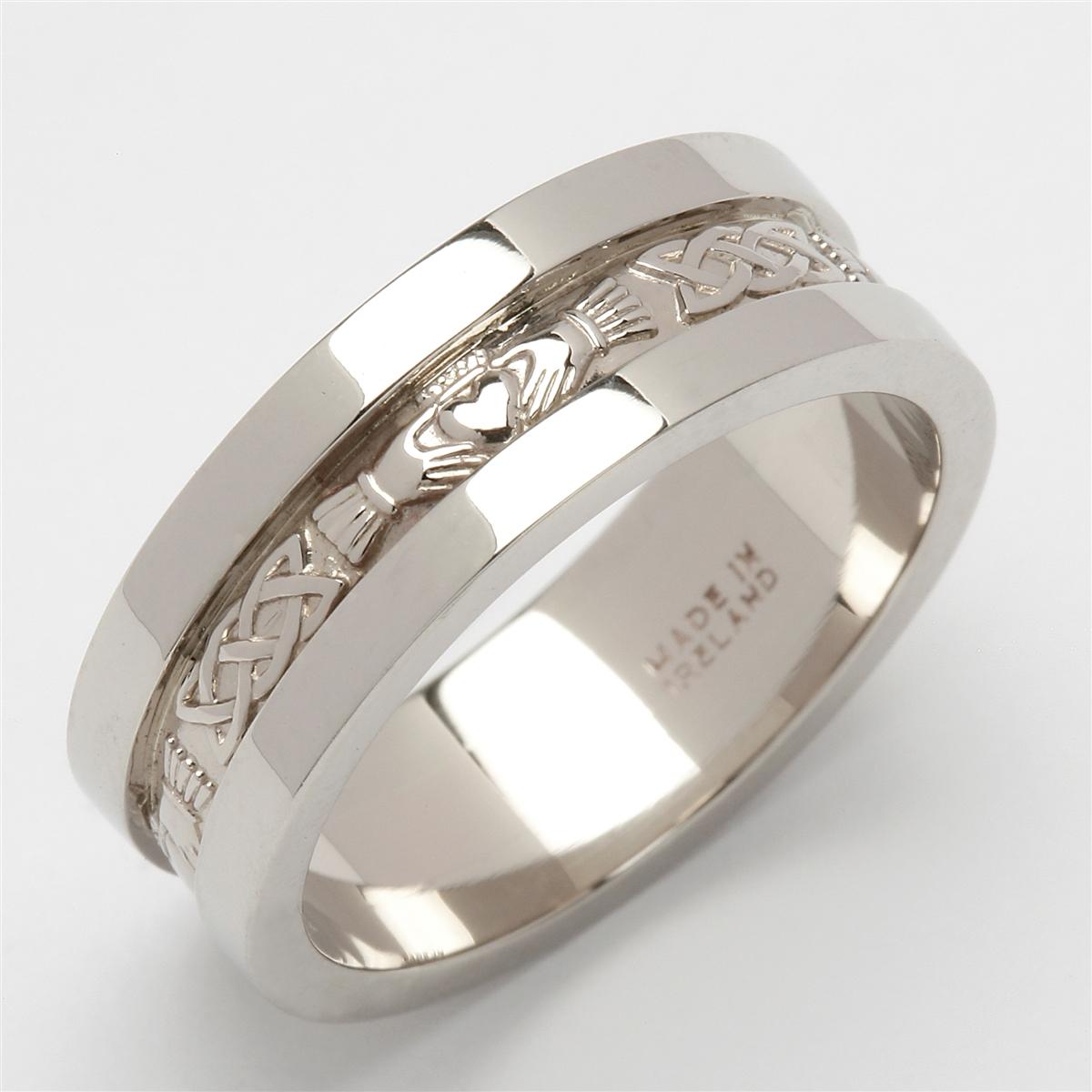 Charming Claddagh Ring King