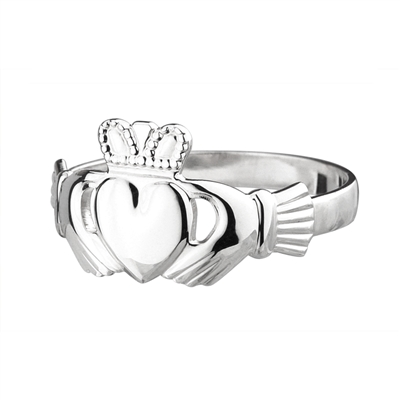 Sterling Silver Baby Claddagh Ring
