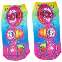 airbrush ankle socks