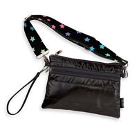 Metallic Puffer belt bag