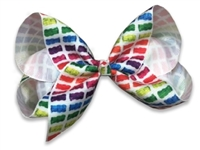 gummy bear hair bows clips