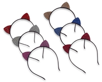 crystal cat ear headbands
