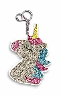 unicorn crystal keychains