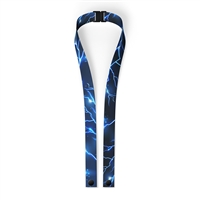 Blue Lightning Mask LANYARD