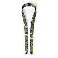 Green Camo Mask LANYARD