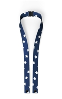 Navy Star Mask LANYARD with Safety Breakaway clip