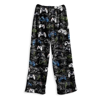 fuzzy  gamer lounge pants