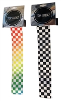 checker vans headbands