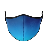 Reusable Blue Ombre Fashion Face Mask