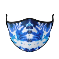 Reusable Blue Tie Dye Face Mask