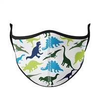 Childrens Reusable Dinosaur Face Mask