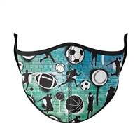 Graffiti Sports Face Mask