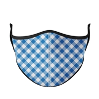 Gingham Fashion Face Mask
