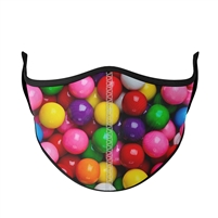 Childrens Reusable Gumball Face Mask