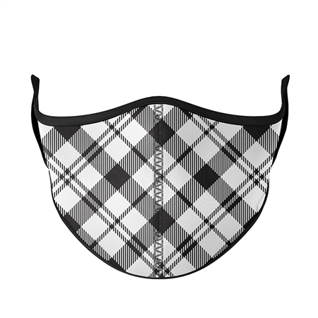 Plaid Fashion Face Mask