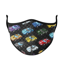 Race Car Face Mask