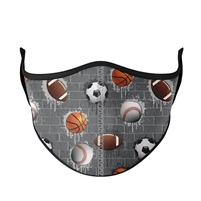 Reusable Sports City Face Mask