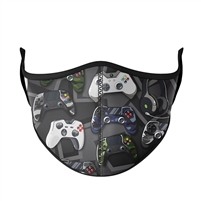 Video Game Controller Face Mask