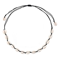 Shell choker necklaces
