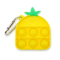 OMG! Pop Fidgety Keychain - Pineapple