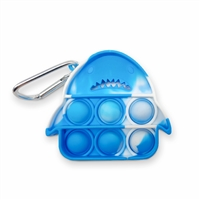 OMG! Pop Fidgety Keychain - Shark