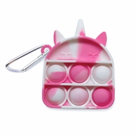 OMG! Pop Fidgety Keychain - Unicorn