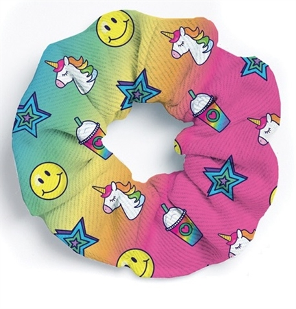unicorn Hair Ponytail Scrunchies