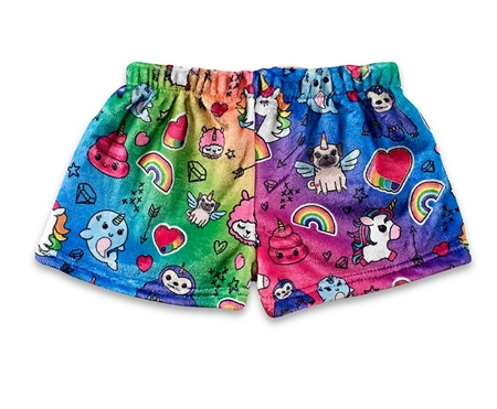 100% unicorn Fuzzy Lounge Shorts