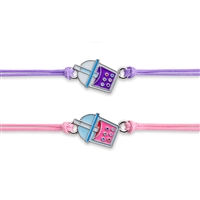 Sweet Shop BFF Bracelet Set - Bubble Tea