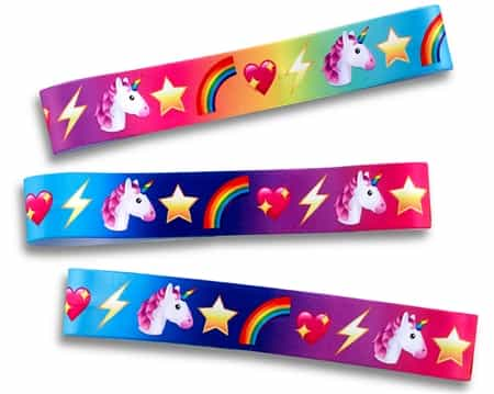 unicorn no slip headbands