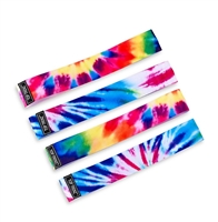 tie dye No Slip Lycra Stretch Headbands