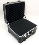 181509H HEAVY-DUTY POLYETHYLENE CASE WITH WHEELS AND TELESCOPING HANDLE