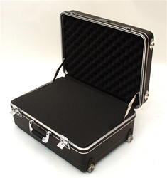 201407H HEAVY-DUTY POLYETHYLENE CASE WITH WHEELS AND TELESCOPING HANDLE