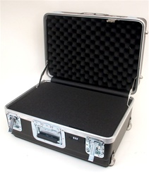 201409AH HEAVY-DUTY ATA CASE WITH WHEELS AND TELESCOPING HANDLE