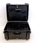 410TH-SGSH ROTATIONAL MOLDED TOOL CASE WITH WHEELS AND TELESCOPING HANDLE