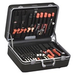 926T-CB DELUXE POLYETHYLENE TOOL CASE WITH CHROME HARDWARE