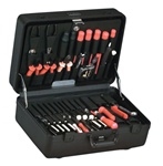 978T-CB ULTIMATE POLYETHYLENE TOOL CASE WITH BLACK HARDWARE