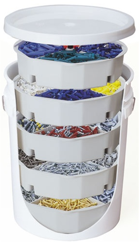 Clc1180 5 Trays With 5 Gallon Bucket