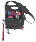 CLC1509 21 POCKET ZIPPERED PROFESSIONAL ELECTRICIAN'S TOOL POUCH