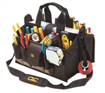 "CLC1529 17 Pocket - 16"" Center Tray Tool Bag"