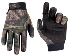 CLCM125 BACKCOUNTRY MOSSY OAK FORM-FITTED, HIGH DEXTERITY WORK GLOVES