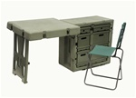 FD3121 PELICAN HARDIGG SINGLE FIELD DESK