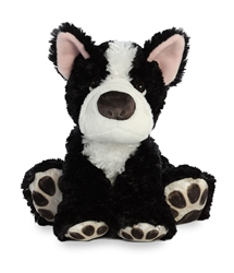 "Boston Terrier Big Paw by Aurora 10"" H Sitting"