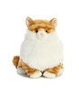 "Butterball Orange Tabby Fat Cat by Aurora 9"" H"